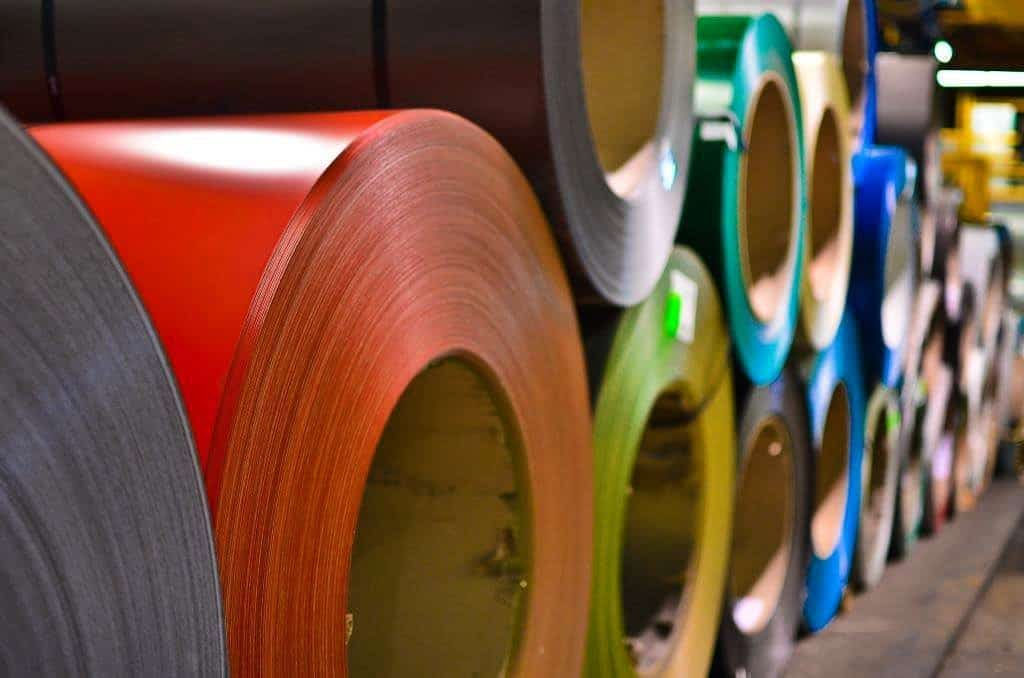PRE-PAINTED STEEL: Cascadia Metals carries a wide variety of pre-painted products in Polyester, SMP and PVDF. Available in coil and flat sheet, our pre-painted steel offer represents the most popular colors in the market and you can be confident the quality and service you receive will be world-class.